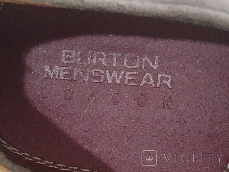 Туфли мужские, серые Burton Menswear London 41 размер., фото №3