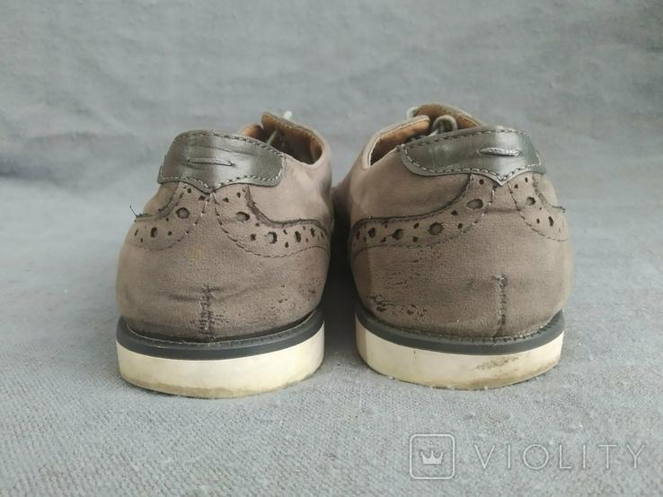 Туфли мужские, серые Burton Menswear London 41 размер., фото №6