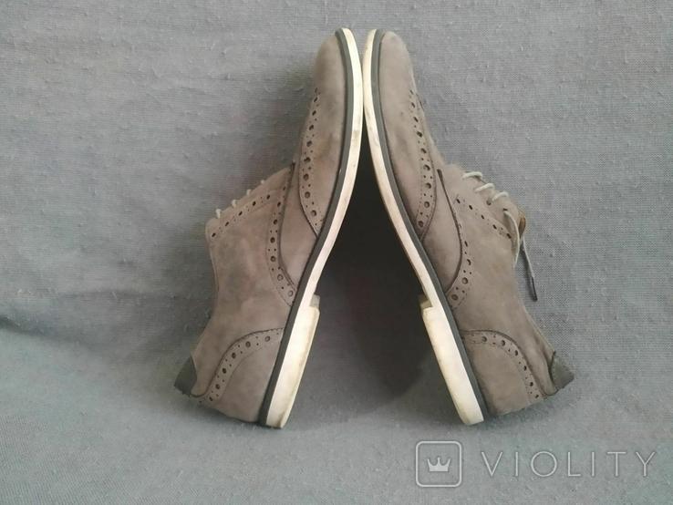Туфли мужские, серые Burton Menswear London 41 размер., фото №7