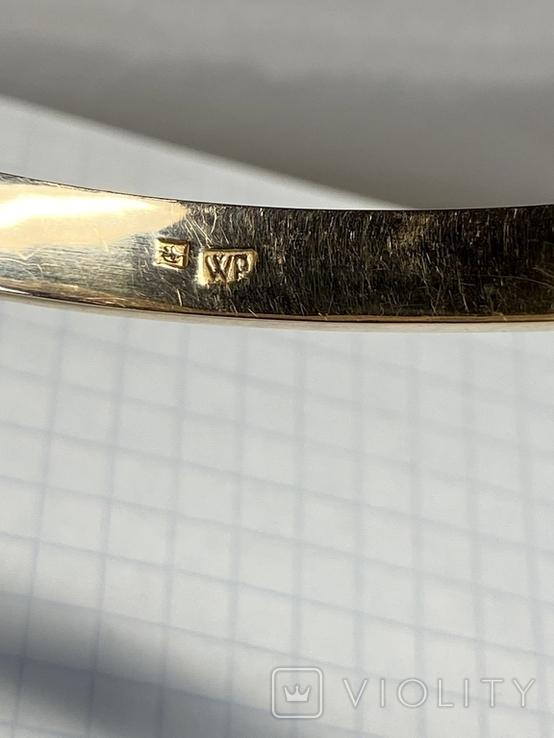 Золотой браслет 56 пробы, фото №8