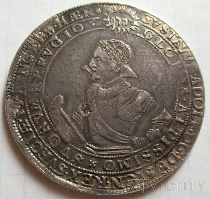 Талер 1615 года (Густав Адольф), фото №2