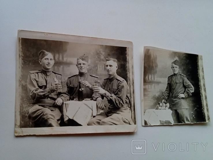 2 фотографии фронтовиков в Берлине май 1945 год, фото №4