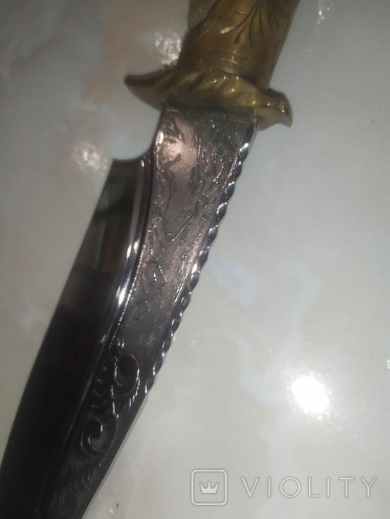Нож Козья Ножка подкова чехол, фото №9