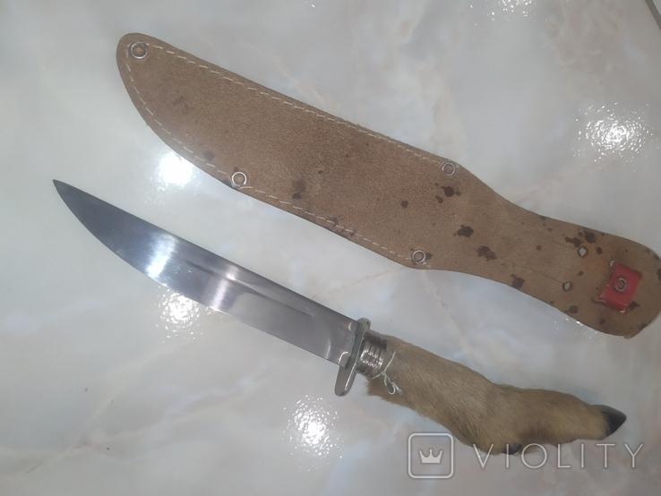 Нож Козья Ножка чехол, фото №6