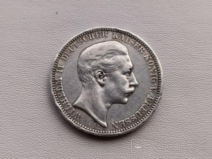 Германия три марки 1908 год серебро, фото №2