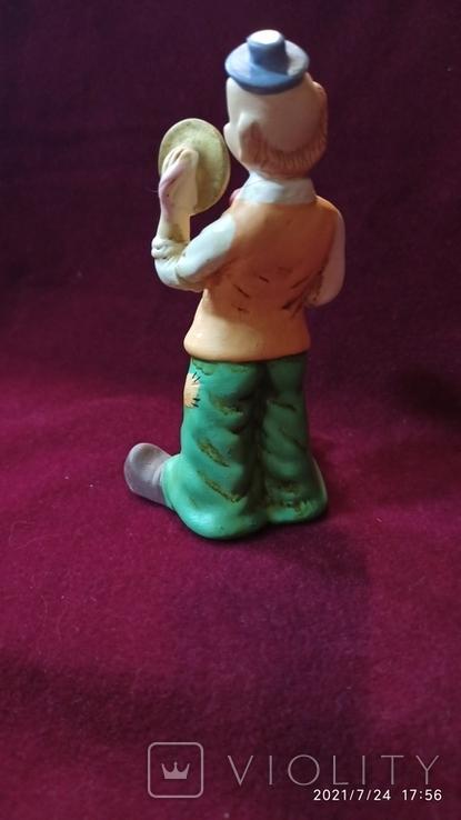 "Статуэтка ""Клоун, играющий на тарелках"", 12,5 см, Германия, фото №3"