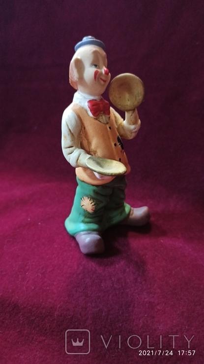 "Статуэтка ""Клоун, играющий на тарелках"", 12,5 см, Германия, фото №4"