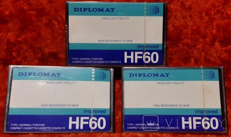 Касети DIPLOMAT HF60 (1), фото №2