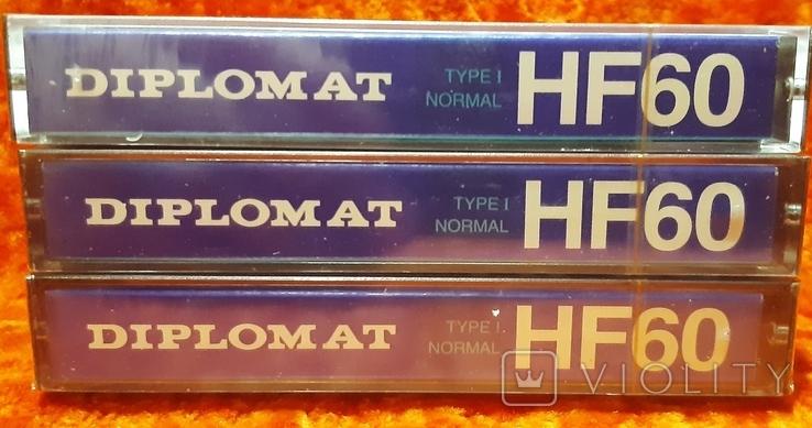 Касети DIPLOMAT HF60 (1), фото №3
