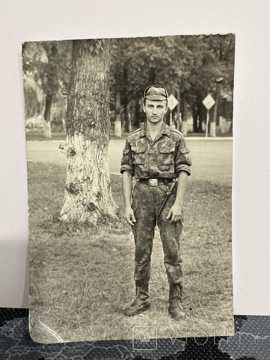 Солдат с штык ножем, фото №2