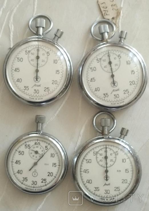 Четыре секундомера из СССР., фото №2