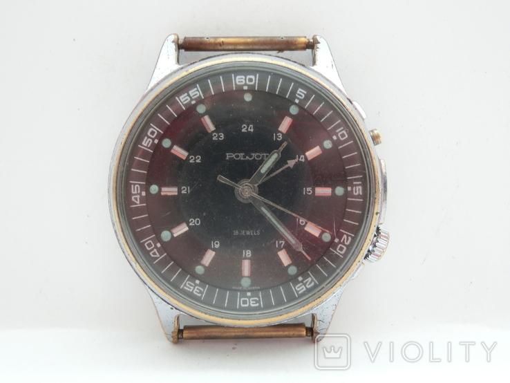 Часы Полет с будильником, фото №4