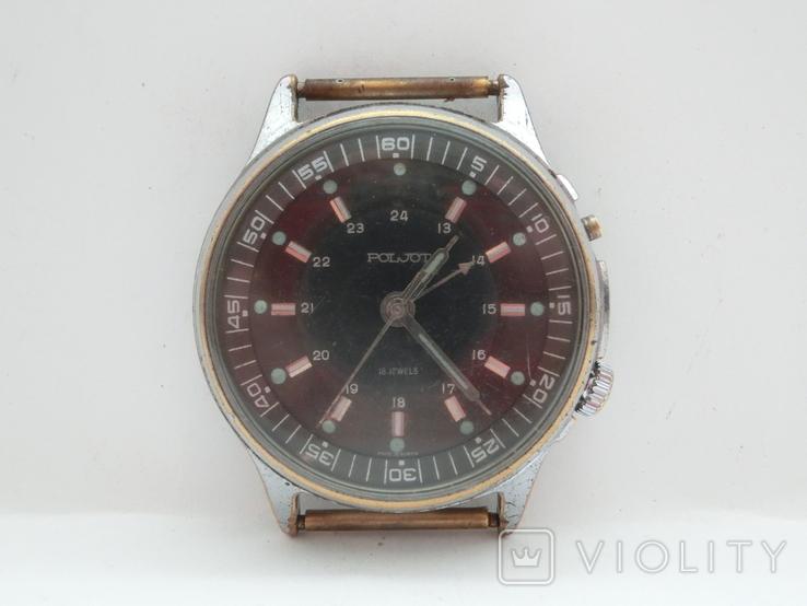 Часы Полет с будильником, фото №5