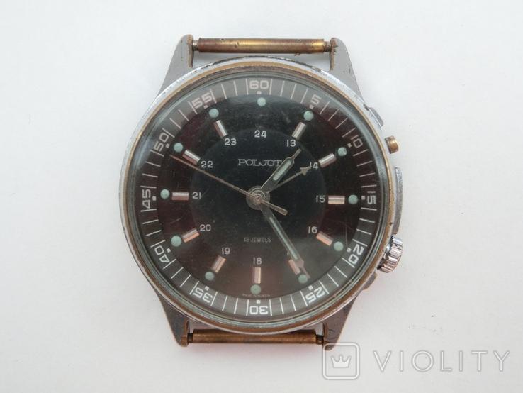 Часы Полет с будильником, фото №6