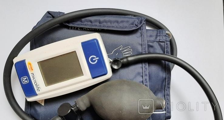"""""""Тонометр"""" Прибор для измерения артериального давления у человека.В ремонт,на запчасти.+*, фото №5"""