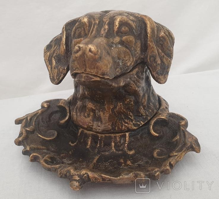 """Собака-пепельница. Клеймо """"КУС.З"""", фото №4"""