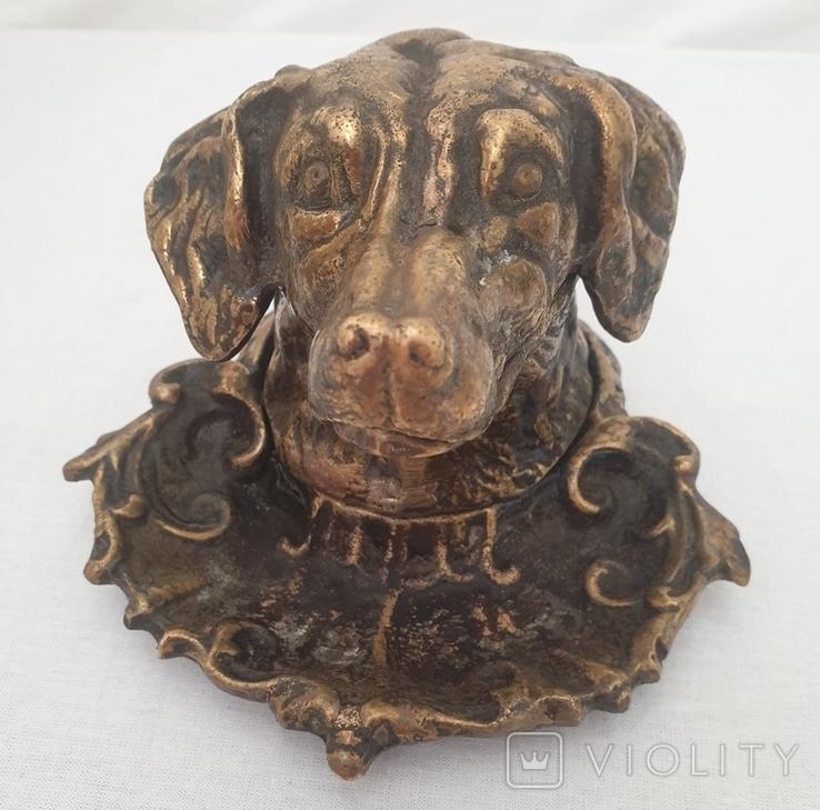 """Собака-пепельница. Клеймо """"КУС.З"""", фото №5"""