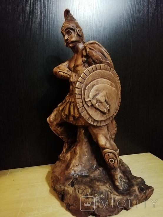 Большая авторская скульптура СПАРТАНЕЦ. Волков Б. К., фото №2