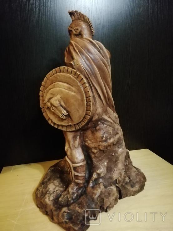 Большая авторская скульптура СПАРТАНЕЦ. Волков Б. К., фото №4