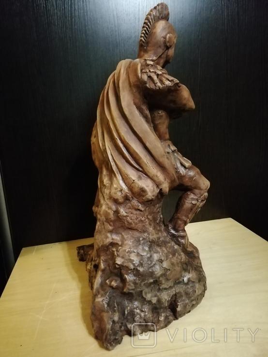Большая авторская скульптура СПАРТАНЕЦ. Волков Б. К., фото №5