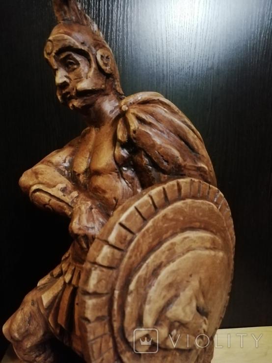 Большая авторская скульптура СПАРТАНЕЦ. Волков Б. К., фото №6