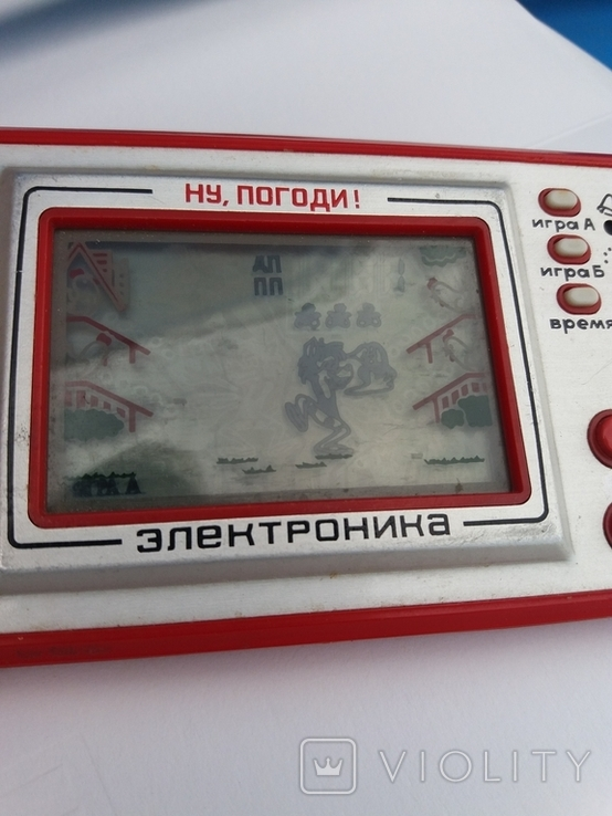 Игра Электроника . красная Ну погоди рабочая, фото №3