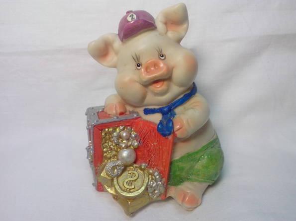 Копилка свинка, фото №2