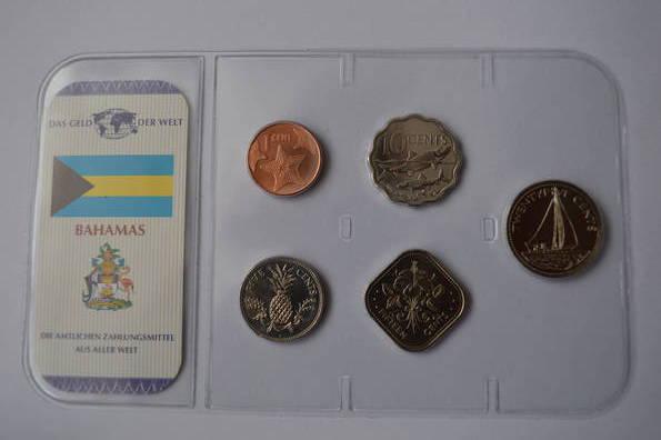 Набор монет Багамы