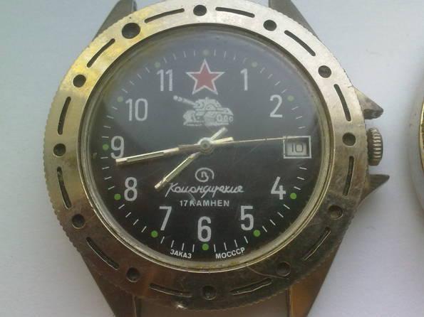 Часы-подделки похожие на командирские, фото №3