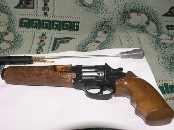 Продам револьвер под патрон флобера калибр 4 мм Сафари РФ 461