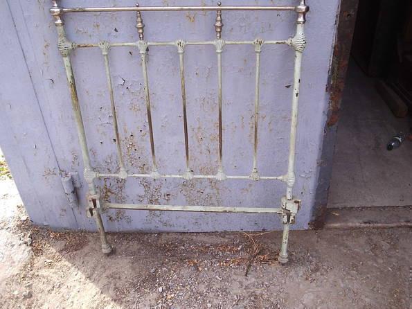 Спинки старинной кровати2, фото №6