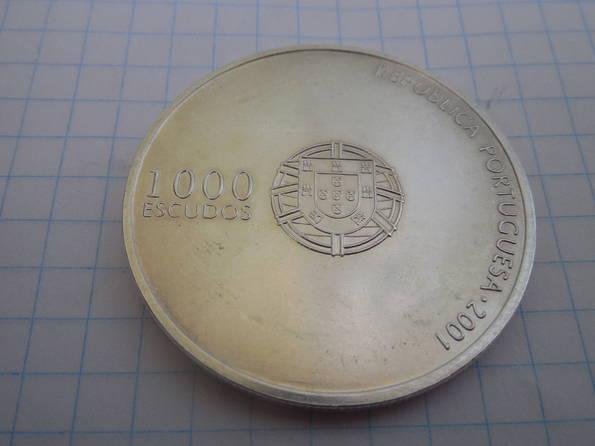 1000 эскудо 2001г. Португалия, фото №3
