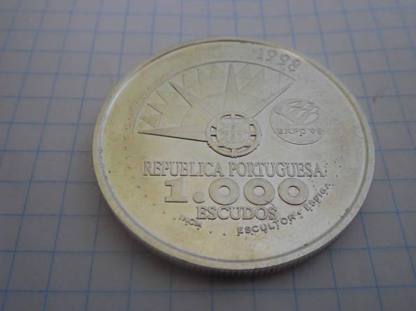 1000 эскудо 1998г. Португалия, фото №3
