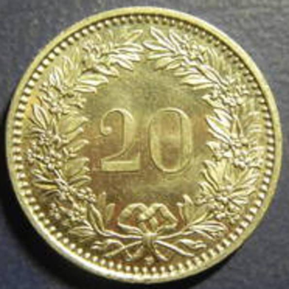 20 рапенів Швейцарія 2009, фото №3