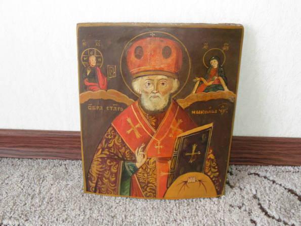 Икона Николай  розмір 22х26х1,5 см, фото №2