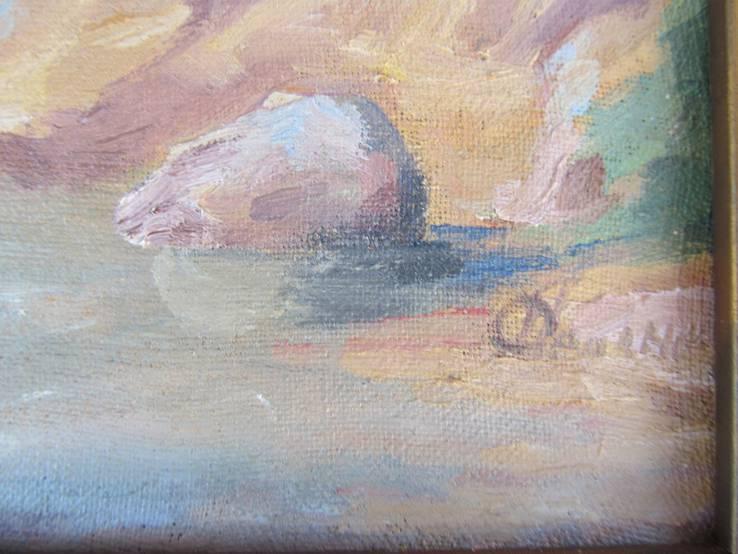 """Картина """"Лесной ручей"""", фото №4"""