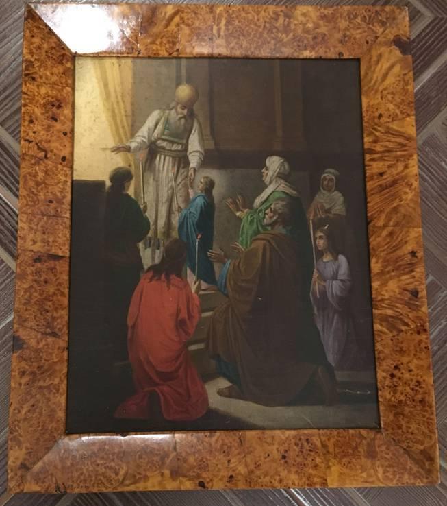 Икона Введение Пресвятой Богородицы в Храм. в киоте, фото №4