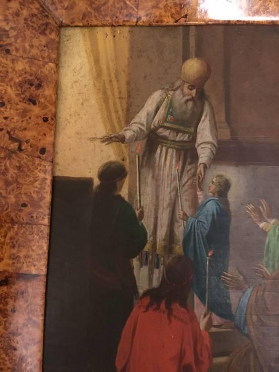 Икона Введение Пресвятой Богородицы в Храм. в киоте, фото №6