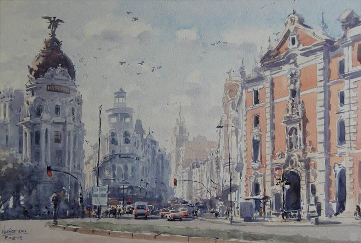 "Картина ""Мадрид"""