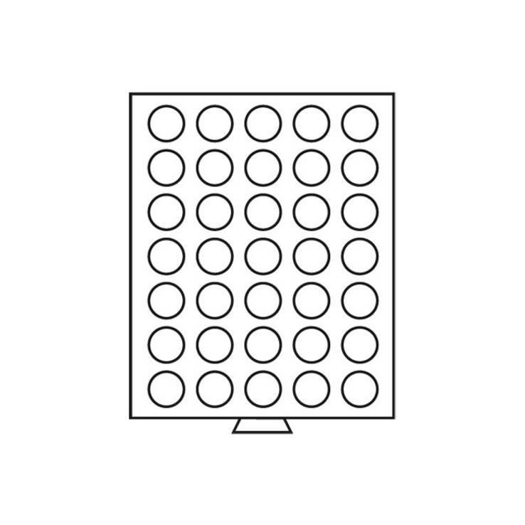 Бокс для монет деревянный 32,5 мм германия, фото №4