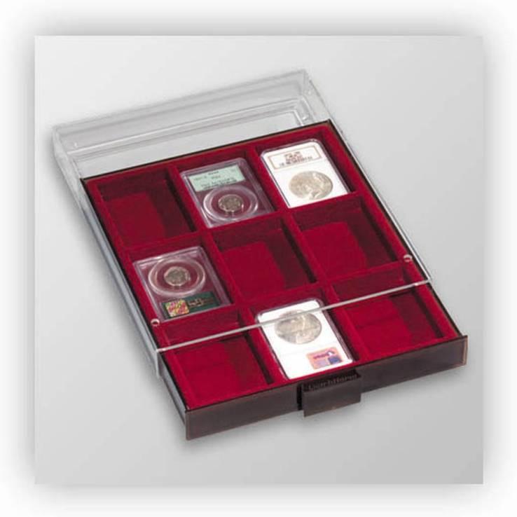 Бокс для монет (размер ячейки 64*86 мм)