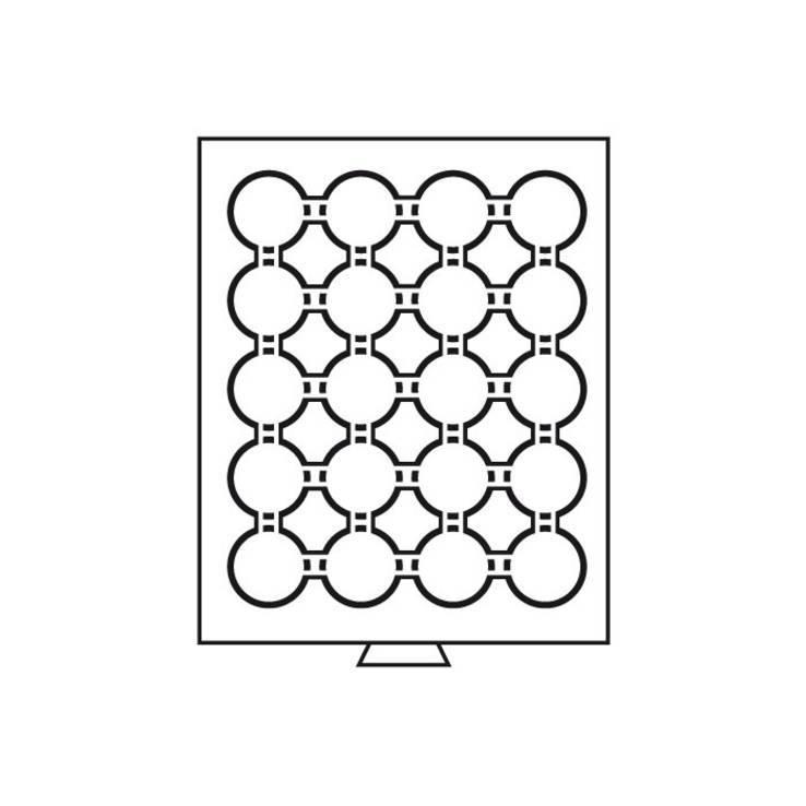 Бокс для монет (диаметр ячейки 45 мм), фото №3