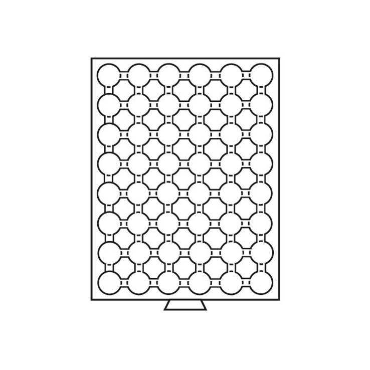 Бокс для монет (диаметр ячейки 27,5 мм), фото №3