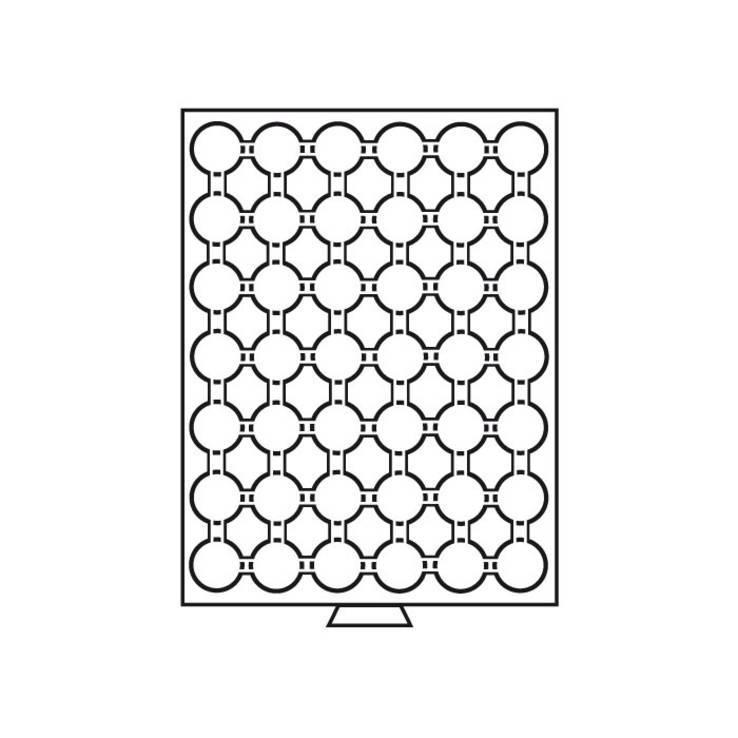 Бокс для монет (диаметр ячейки 30,5 мм), фото №3