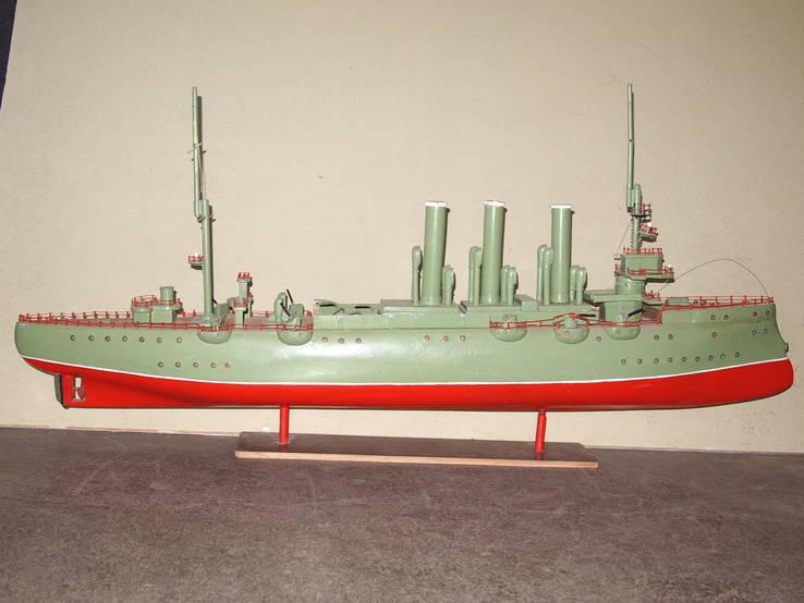 Масштабная модель Крейсер Аврора. (Длина 115 см.), фото №2