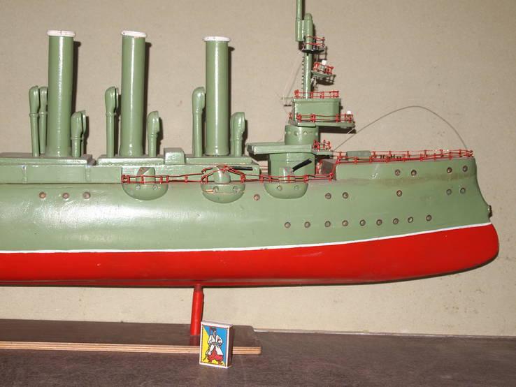 Масштабная модель Крейсер Аврора. (Длина 115 см.), фото №3