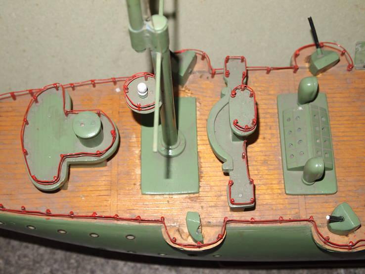 Масштабная модель Крейсер Аврора. (Длина 115 см.), фото №6
