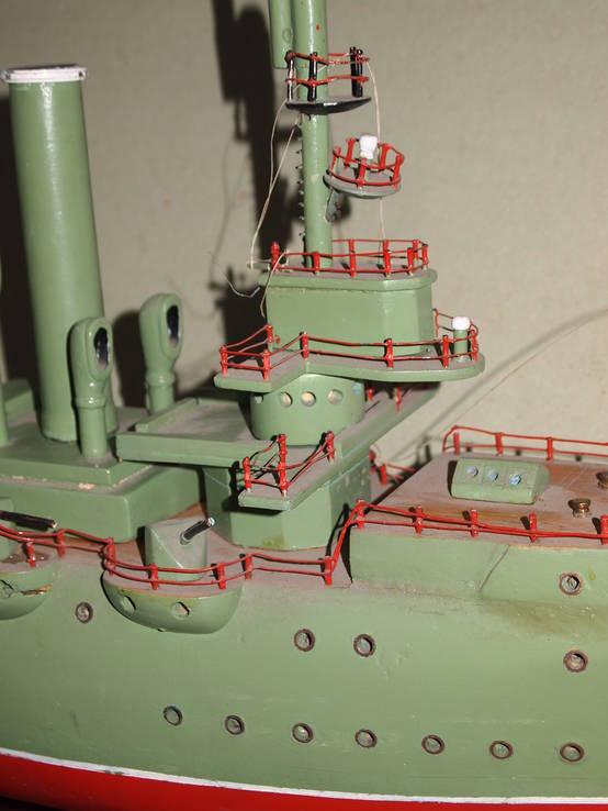 Масштабная модель Крейсер Аврора. (Длина 115 см.), фото №8