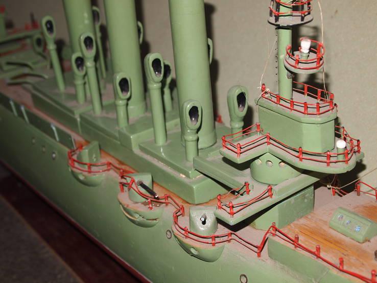 Масштабная модель Крейсер Аврора. (Длина 115 см.), фото №10