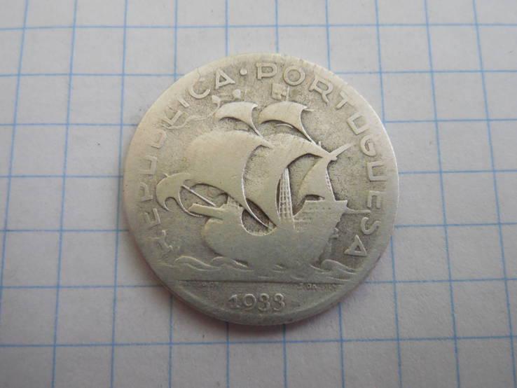 5 эскудо 1933г. Португалия, фото №4